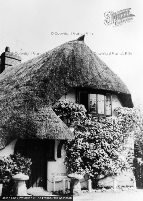Photo of Abbotts Ann, White Cottage c.1960