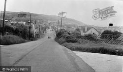 Aberaeron, Aberystwyth Road c.1955