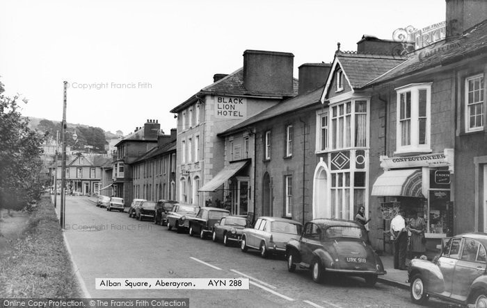 Photo of Aberaeron, Alban Square c.1965