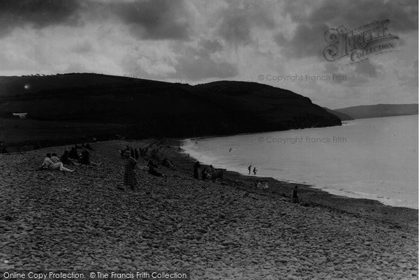 Photo of Aberaeron, Beach c.1925
