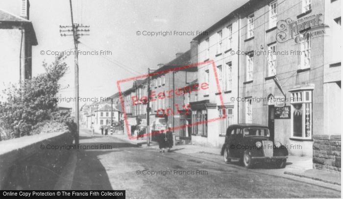 Photo of Aberaeron, Bridge Street c.1955