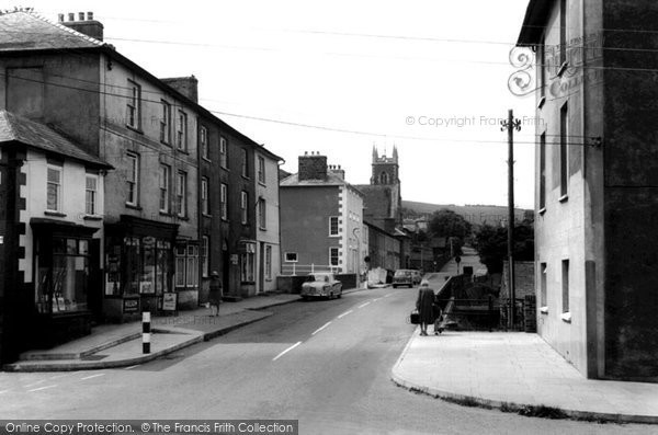 Photo of Aberaeron, Bridge Street c.1960