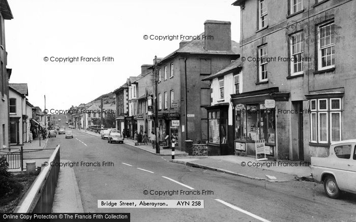 Photo of Aberaeron, Bridge Street c.1965
