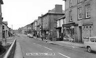 Aberaeron, Bridge Street c.1965