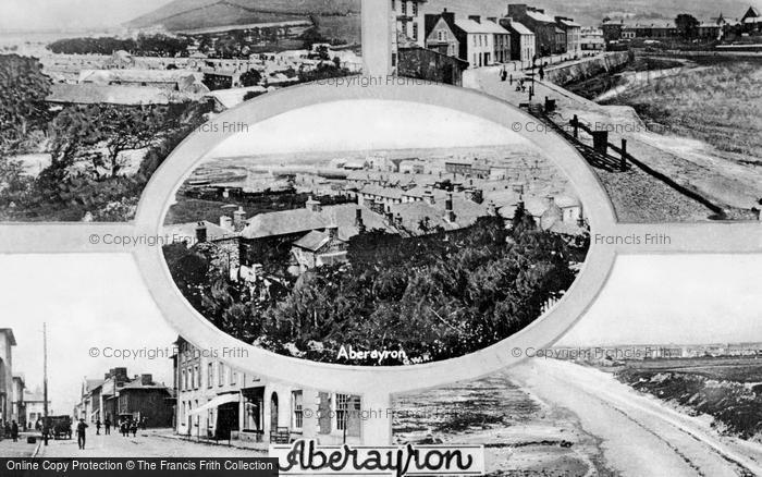 Photo of Aberaeron, Composite c.1930