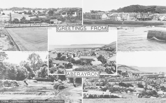 Photo of Aberaeron, Composite c.1955