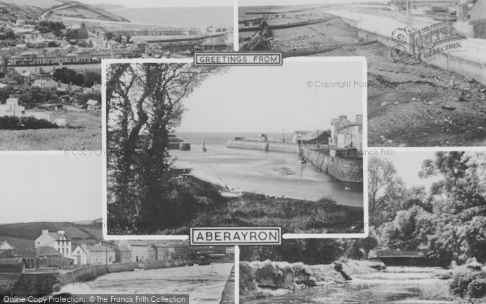 Photo of Aberaeron, Composite c.1960