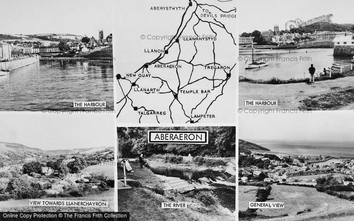 Photo of Aberaeron, Composite c.1965