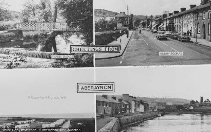Photo of Aberaeron, Composite c.1965