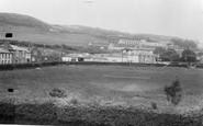 Aberaeron, Feather Hotel And School c.1955