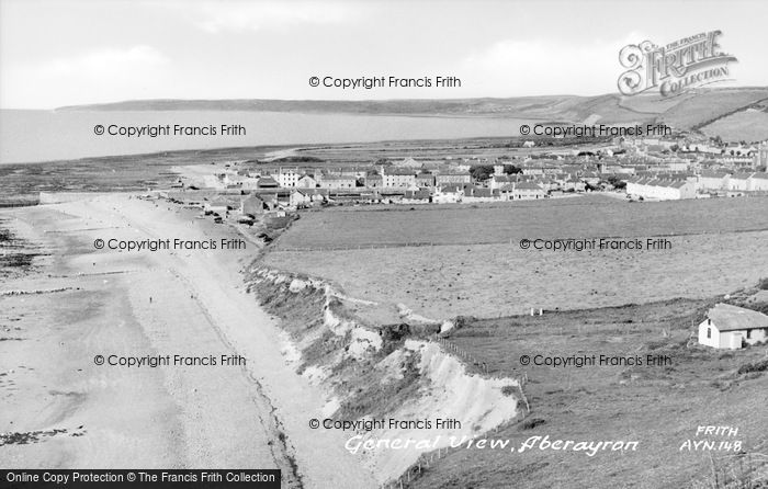 Photo of Aberaeron, General View c.1955