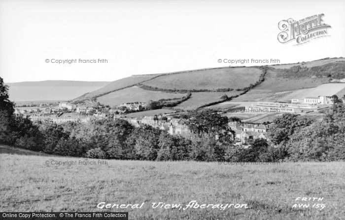Photo of Aberaeron, General View c.1955