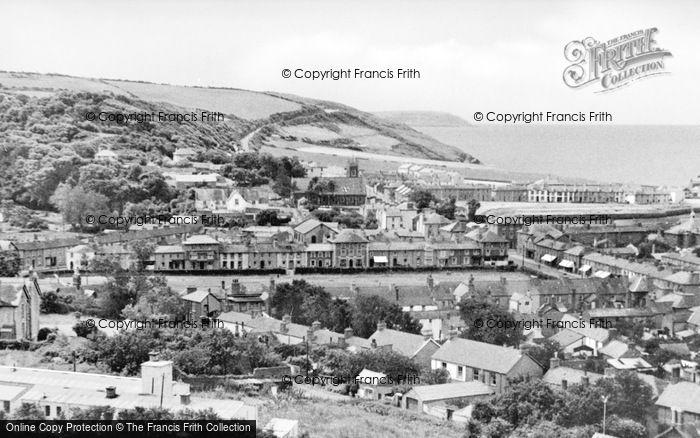 Photo of Aberaeron, General View c.1965