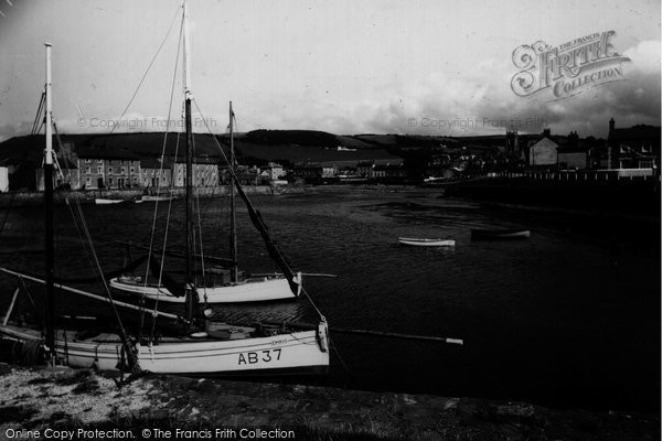 Photo of Aberaeron, Harbour c.1950