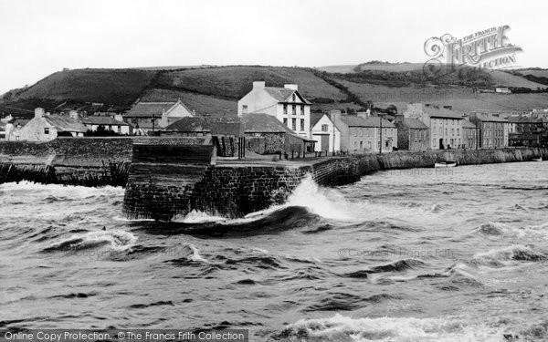 Photo of Aberaeron, Harbour c.1955