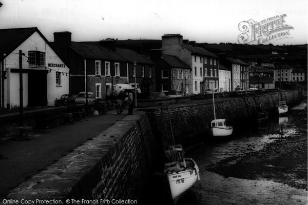 Photo of Aberaeron, Harbour c.1960