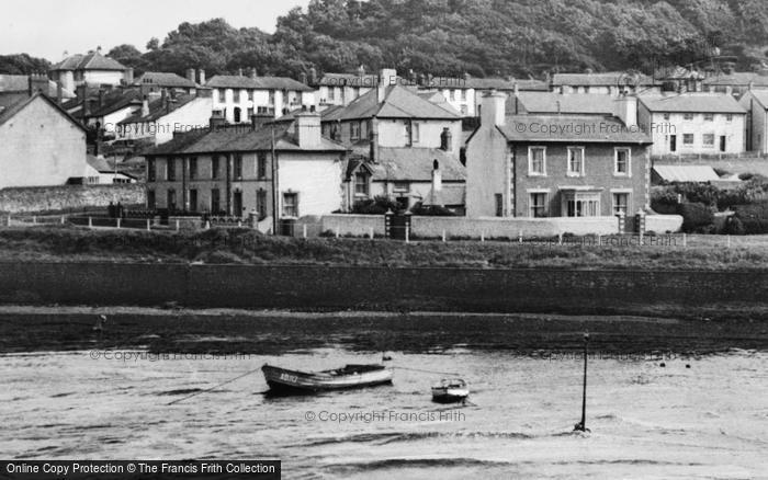 Photo of Aberaeron, Houses Overlooking The Harbour c.1955