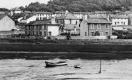 Aberaeron, Houses Overlooking The Harbour c.1955