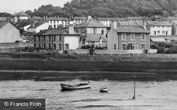 Aberaeron, Houses Overlooking The Harbour c.1955