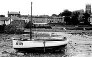 Aberaeron, Inner Harbour c.1955