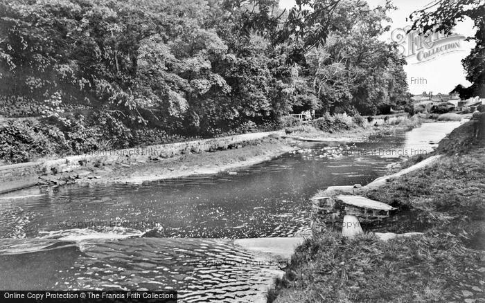 Photo of Aberaeron, Lovers Walk c.1955