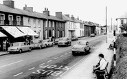 Aberaeron, Main Road c1965