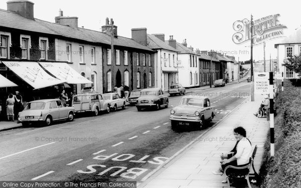 Photo of Aberaeron, Main Road c1965