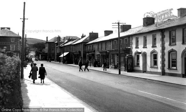 Photo of Aberaeron, Main Street c.1955