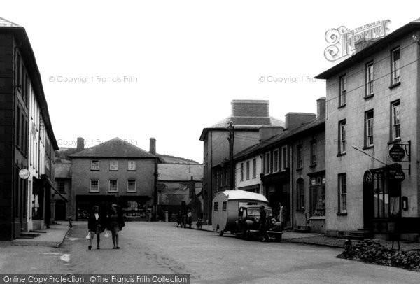Photo of Aberaeron, Market Street c.1955