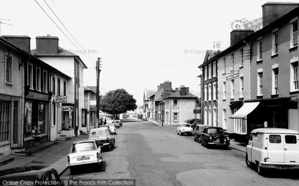 Photo of Aberaeron, Market Street c.1965