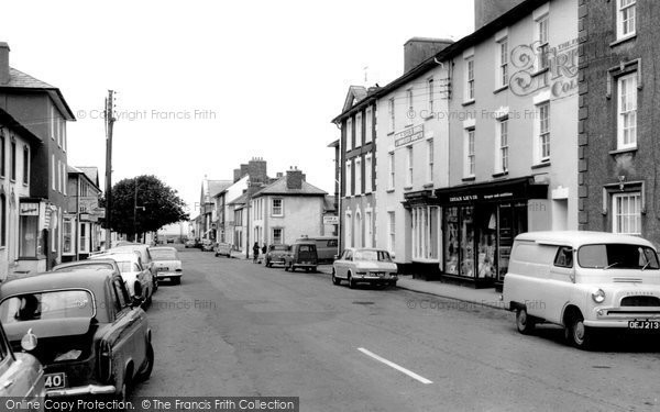 Photo of Aberaeron, Market Street c1965