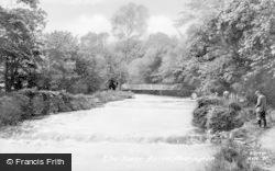 Aberaeron, River Aeron c.1955