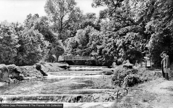 Photo of Aberaeron, Riverside Walk c.1965