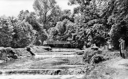 Aberaeron, Riverside Walk c.1965