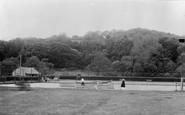 Aberaeron, Tennis Courts And Bowling Green c.1955