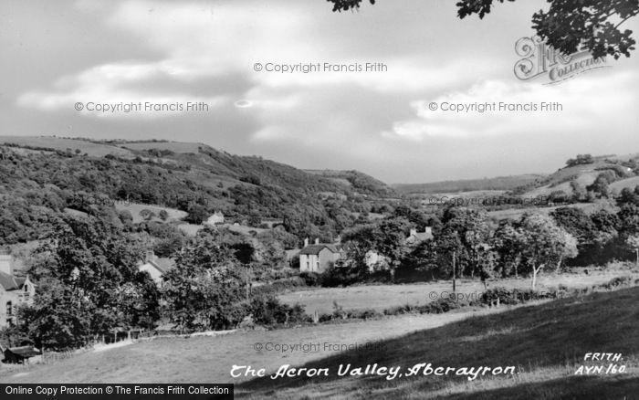 Photo of Aberaeron, The Aeron Valley c.1955