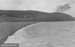 Aberaeron, The Beach c.1939