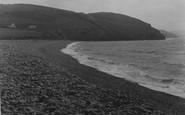 Aberaeron, The Beach c.1940