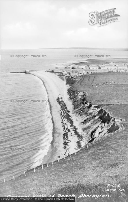Photo of Aberaeron, The Beach c.1955