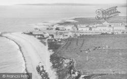 Aberaeron, The Beach c.1955