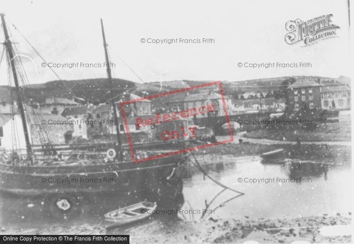 Photo of Aberaeron, The Harbour c.1930