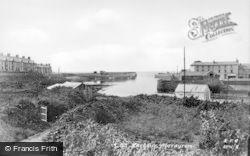 Aberaeron, The Harbour c.1930