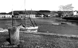 Aberaeron, The Harbour c.1950
