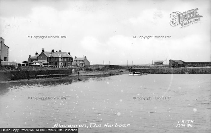 Photo of Aberaeron, The Harbour c.1955