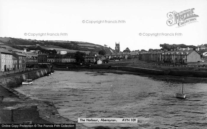 Photo of Aberaeron, The Harbour c.1955