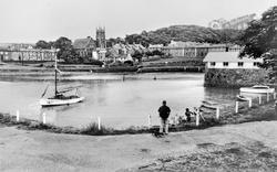 Aberaeron, The Harbour c.1955