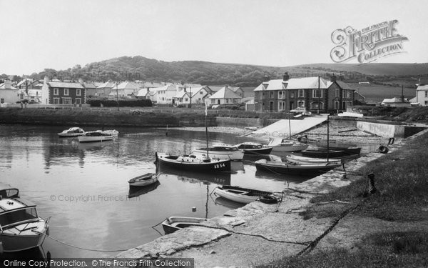 Photo of Aberaeron, The Harbour c.1960
