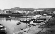 Aberaeron, The Harbour c.1960
