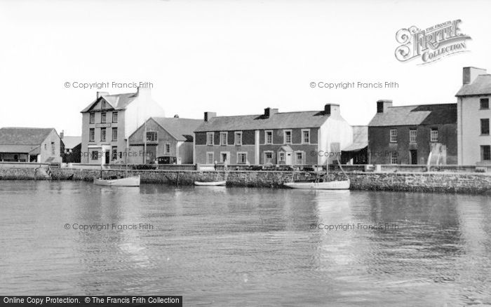 Photo of Aberaeron, The Harbour c.1965