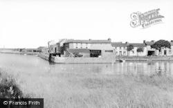 Aberaeron, The Harbour c.1965